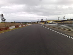 Cycling at the race-track (1)