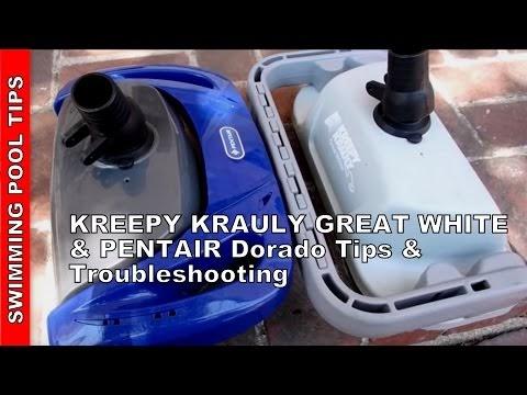 Swimming Pool Tips & Reviews: KREEPY KRAULY GREAT WHITE