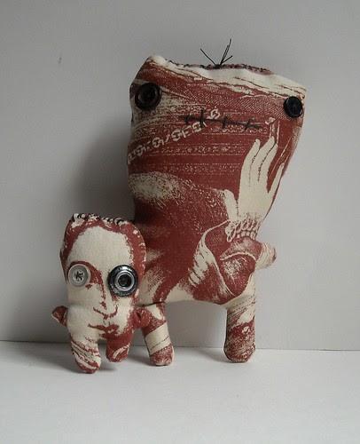 Monster Tom and Wilson by junkerjane.