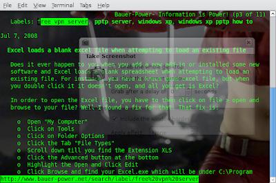 links command line internet browser
