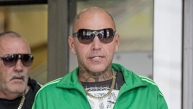 TOBY MITCHELL: Former Bandido enforcer who is currently behind bars on extortion, blackma