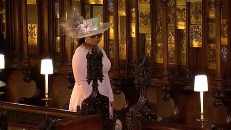 Oprah isn't quite sure where to sit for the royal wedding