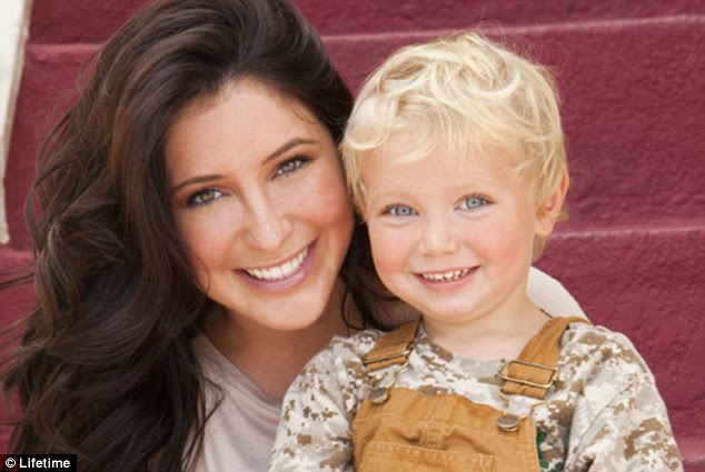 First look: Bristol Palin and her cute sonTripp in a promotional photograph for her new reality show
