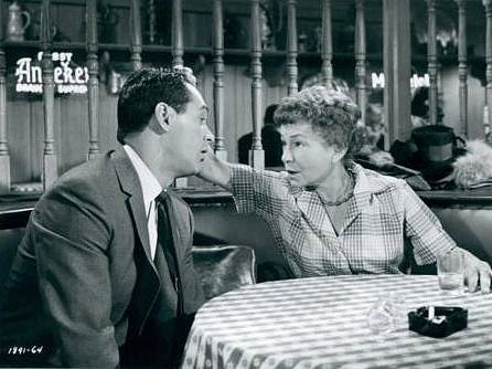 Thelma Ritter and Rock Hudson in Pillow Talk