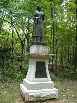 monument to the heroine of Guilford Court House