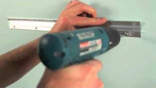 How To Hang A Heavy Mirror Or Picture With Itw Anchors Youtube
