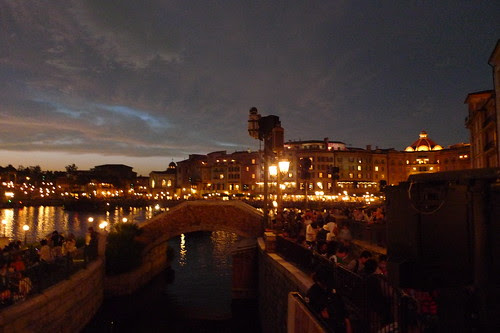 Mediterranean Harbor (Tokyo DisneySea) at night 2