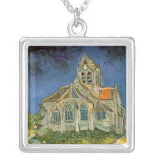 The Church at Auver by Vincent Van Gogh Custom Jewelry