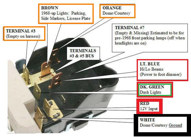Ez Dome Light Wiring Harnes Diagram