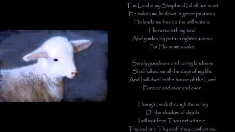 The Lord Is My Shepherd Lyrics Keith Green