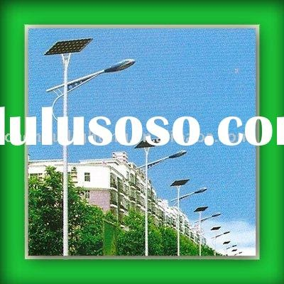 Street Light Control Scheme Solar Energy Road Lamp Combineded Orange Lamp Shades