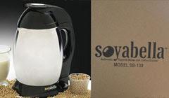 La soyabella : machine à laits végétaux