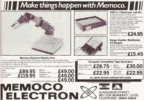 Publicidad de Memoco Electron - 1