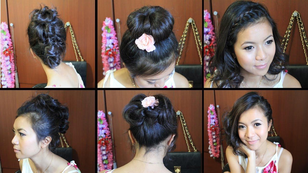 Cute Easy Hairstyles For Medium Hair For School Carolin Style