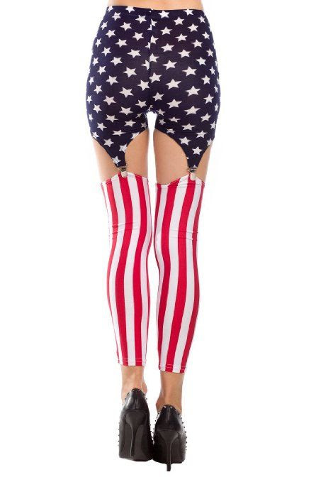 POPULAR LET'S GET PATRIOTIC LEGGINGS!!  Women's Pattern Leggings Cotton Stretch Pants - Many Designs (00-Adventure Time:Purple): Clothing