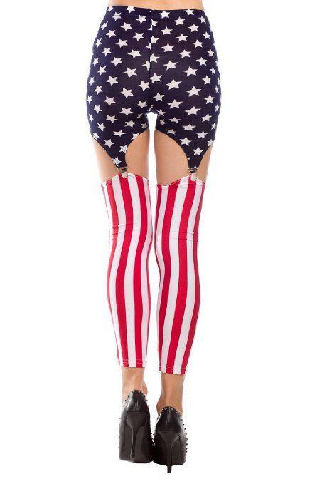 POPULAR LET'S GET PATRIOTIC LEGGINGS!!  Women's Pattern Leggings Cotton Stretch Pants - Many Designs (00-Adventure Time:Purple): Clothing