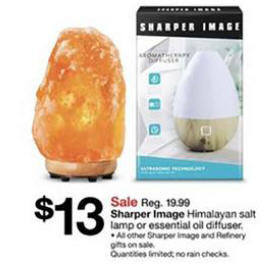 Black Friday Deal Sharper Image Essential Oil Diffuser