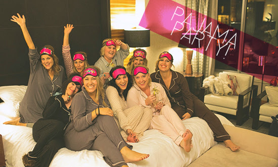 Pajama Party For The Bachelorette Chicago Wedding Blog