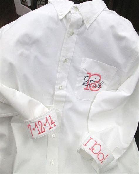 Bridesmaid Button Down Shirt, Bride Shirt, Getting Ready