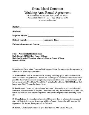 Printable wedding day timeline 3pm ceremony   Fill Out