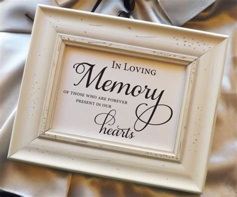In Loving Memory Of Those Who Are Forever Present In Our