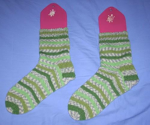 Turtlegirl socks