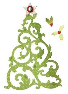 Sizzex Thinlits Christmas Tree