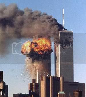 Twin Towers, Sept. 11, 2001