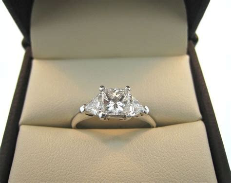 25  best ideas about Side Stone Engagement Rings on