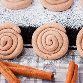 zakręcone ciasteczka cynamonowe