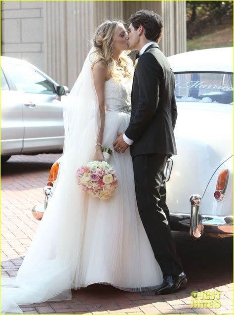 Justin Gaston Weds Melissa Ordway   First Wedding Pictures