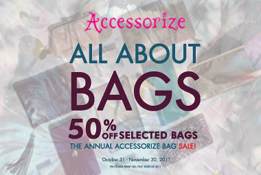 banner ad - bag sale