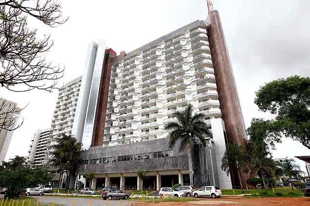 Fachada do Saint Peter Hotel, onde o ex-ministro José Dirceu, será contratado para trabalhar durante o cumprimento da pena