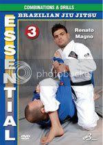 Essential Jiu-Jitsu 3: Combinations & Drills DVD by Renato Magno