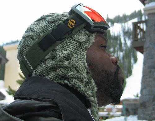 Snowboarder Hat that Rocks