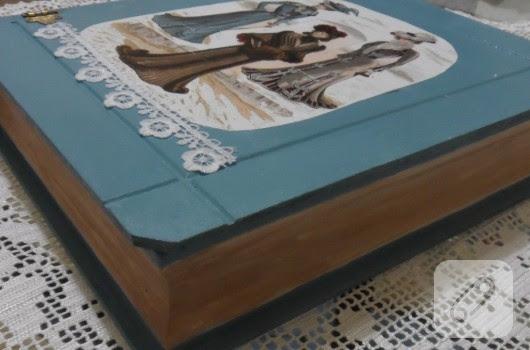 Kitap şeklinde Kutu Boyama 10marifetorg