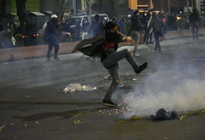 150 minutos de enfrentamientos en La Paz aborta festejos de Todos Santos #Bolivia