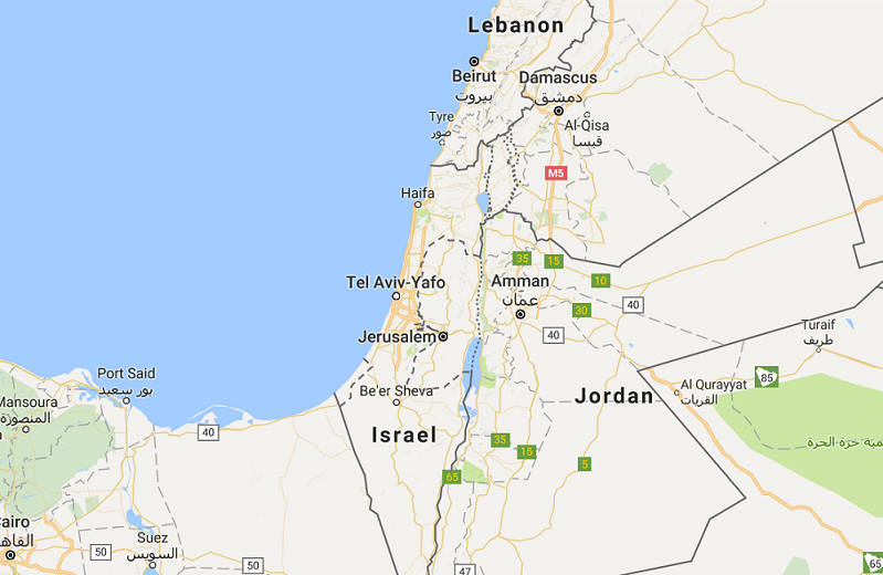 Google Palestine Row Is Symptom Of A Middle East Mapping