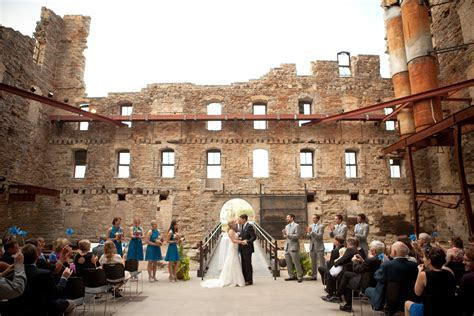 Mill City Museum Outdoor Courtyard Ceremony
