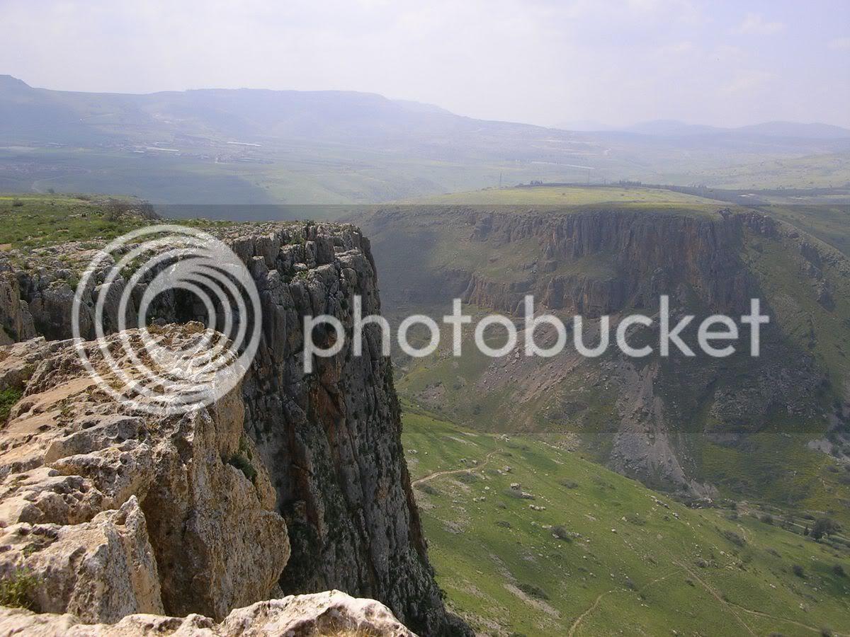 תצפית על הר ארבל