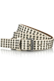 J.Crew Studded leather belt