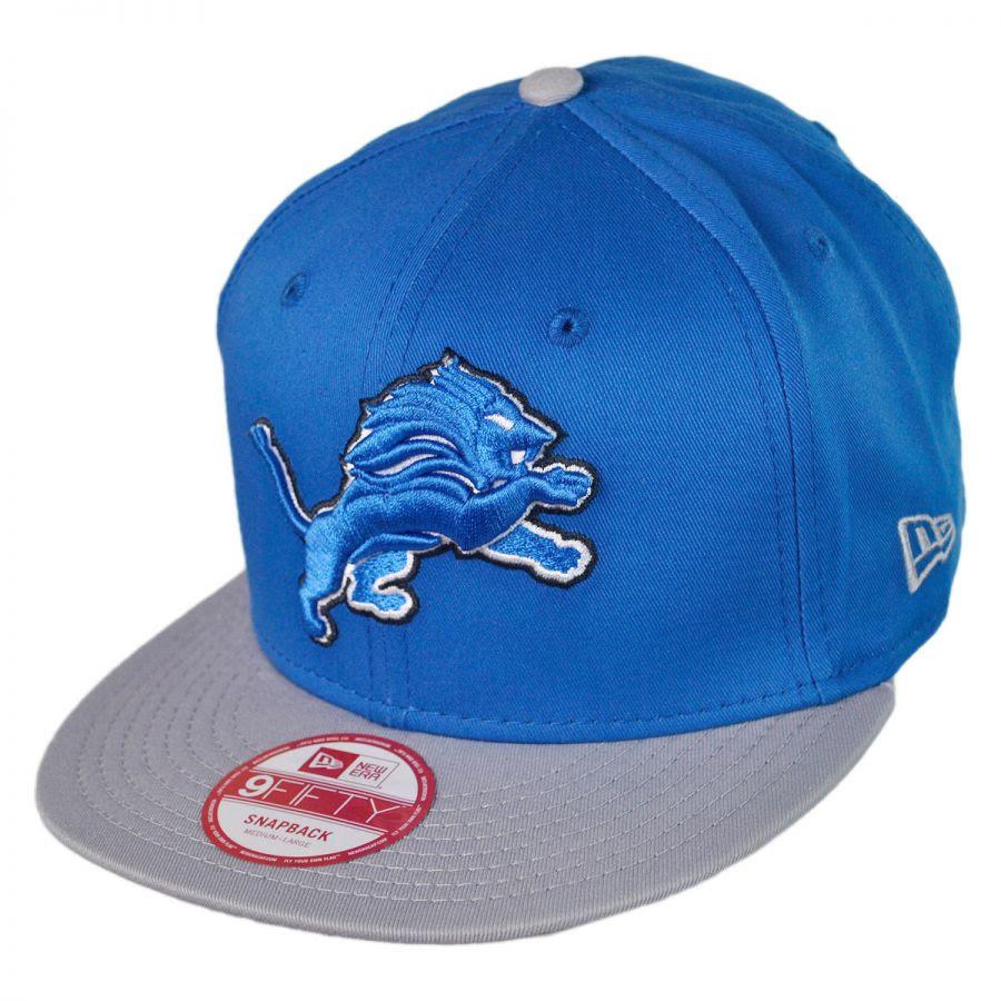 New Era Detroit Lions NFL 9Fifty Snapback Baseball Cap NFL Football Caps