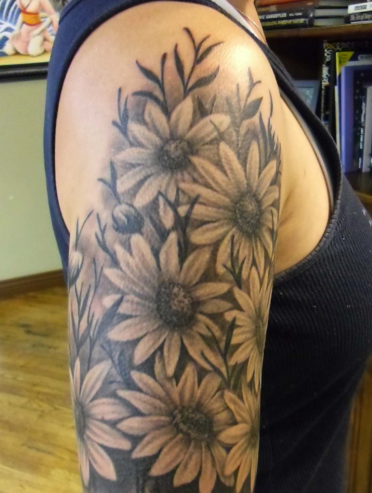 35 Inspiring Sunflower Tattoo Designs