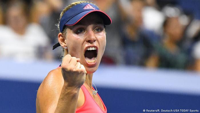 Angelique Kerber jubelt bei den US Open 2016 (Foto: Reuters)