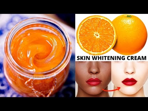 Orange Cream For Skin Whitening & Anti-Aging Which Remove Dark Spots As Well | Home Remedy