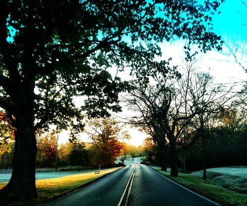 Beautiful & Crisp Fall Day! by Tom C. Frundle