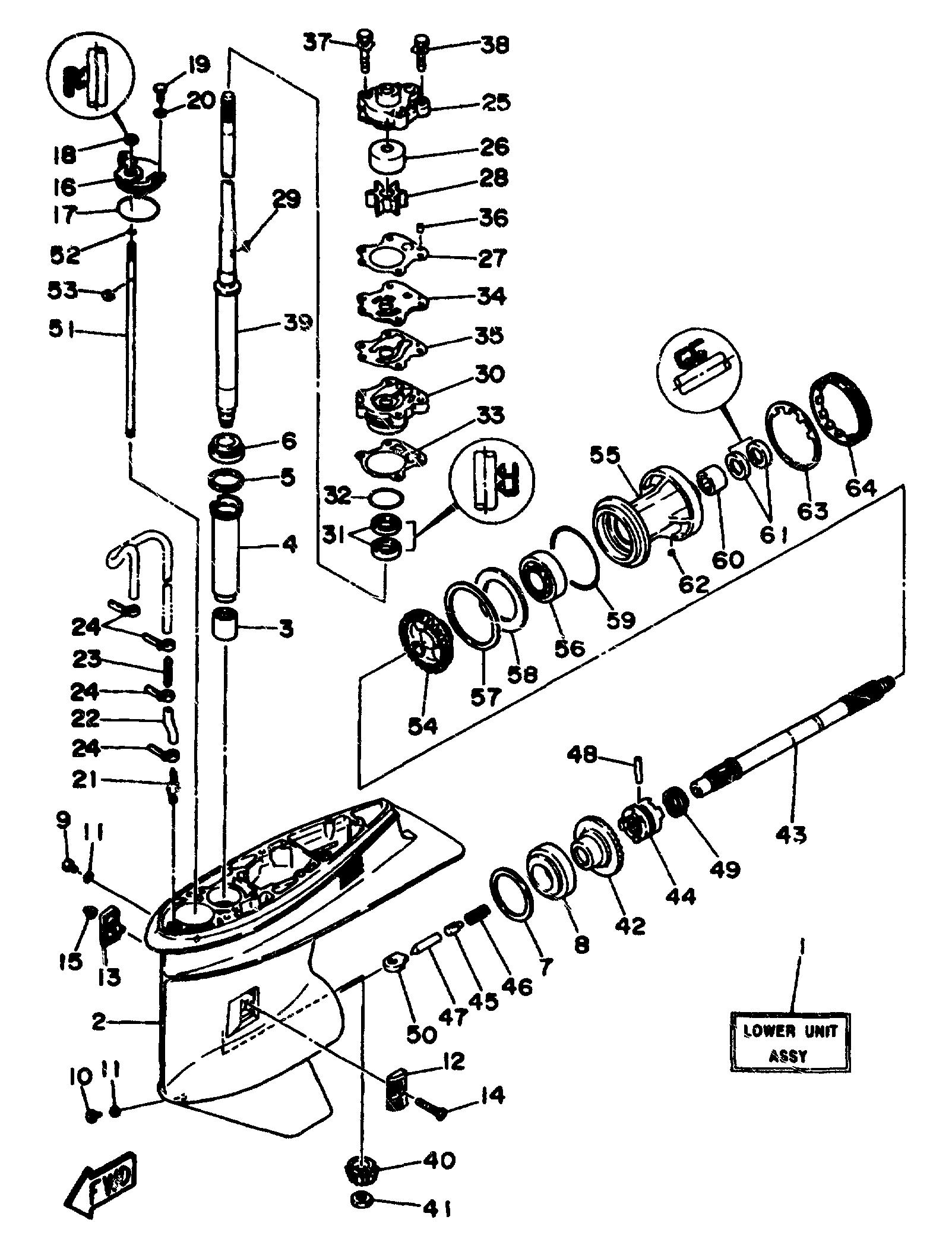 chrysler 55 hp outboard motor wiring diagrams image 9