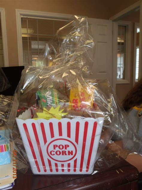 Raffle Prize: Movie tickets from Costco, Candy, popcorn