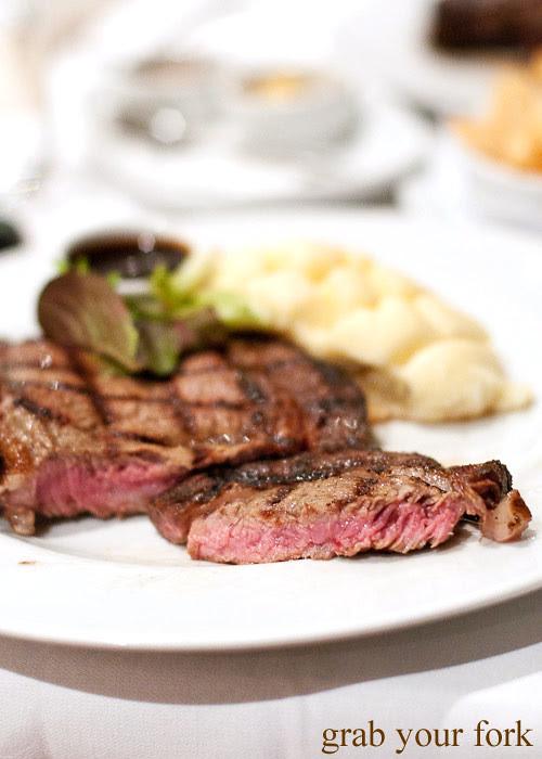 steak at steersons lime street king st wharf