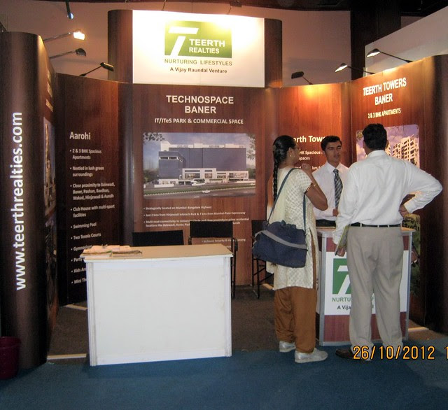 Teerth Realties (www.teerthrealties.com) - Exhibition of Properties in Hinjewadi, Wakad, Baner, Balewadi & Bavdhan! - PROFEST WEST 2012 by CREDAI Pune Metro on 26 - 27 - 28 October 2012 at VITS Hotel, Balewadi, Pune